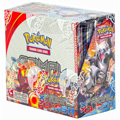 XY Primal Clash Booster Box New Sealed Pokemon TCG