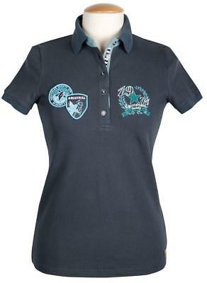 Polo Shirt Haxby in Blue, Chantarelle