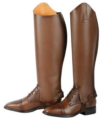Luxurious Leather Chaps - Brogue Horse Riding » Riding Boots