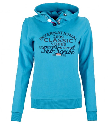 Subscribe Leonora Jumper in Light Blue Horse Riding Clothing Womens