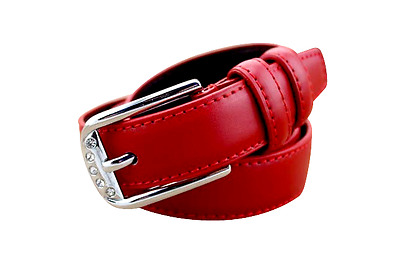 IM Equestrian - Leather belt Red