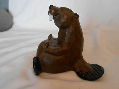 Happy Beaver Bearfoots Singing Tree Products by Montana Artist Jeff Fleming