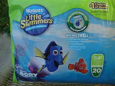 Huggies Little Swimmers Disposable Swimpants Finding Dory S-P Quanity-20