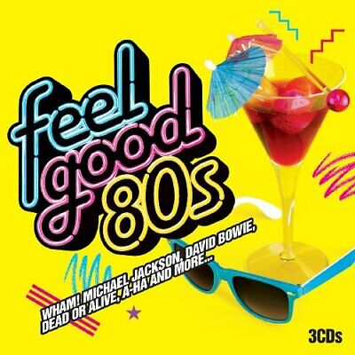 Various - Feel Good 80's - Various CD SKVG The Cheap Fast Free Post The Cheap