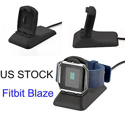 Fitbit Blaze Charger Spare Charging Stand Charging Cradle Dock FREE TAKE OFF! US