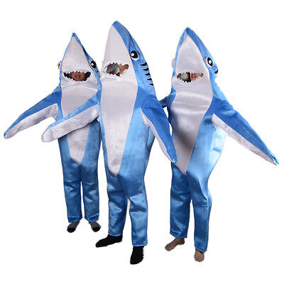 Attack Shark Costume Cute Mascot Suit halloween Funny Animal Cosplay party Adult