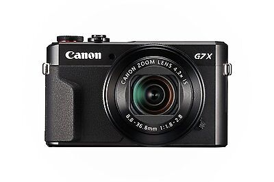 Canon PowerShot G7X  II G7 X Mark II Digital Camera (Black)