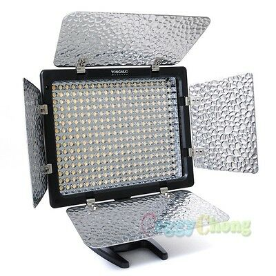 YONGNUO YN-300 II Pro LED Studio Video Light For Canon Nikon Sony Camcorder DSLR