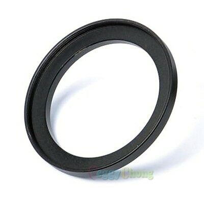 40.5mm-46mm 40.5-46 mm 40.5 to 46 Metal Step Up Lens Filter Ring Adapter Black