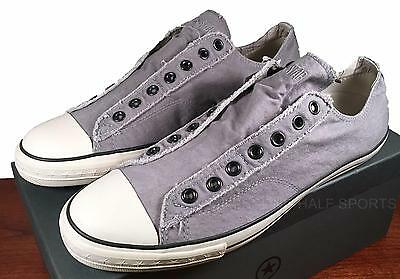 the best attitude 7de5b 008d6 ... coupon code for converse john varvatos vintage slip on sneaker pewter  grey mens shoe a0423 us
