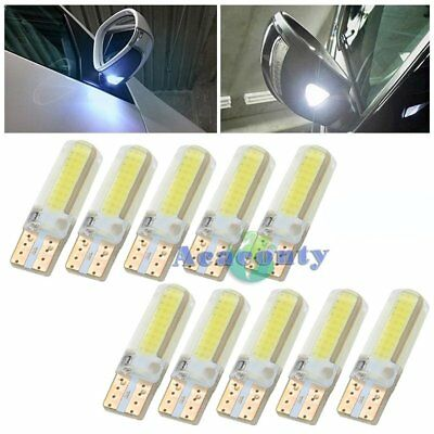 10x LED W5W CANBUS 20SMD COB Lampe Glassockel Weiß Auto InnenraumBeleuchtung