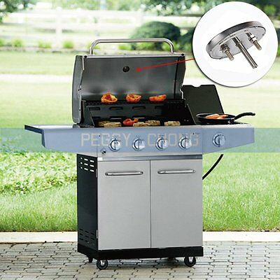 barbecue bbq pit smoker grill thermometer temp gauge chf. Black Bedroom Furniture Sets. Home Design Ideas