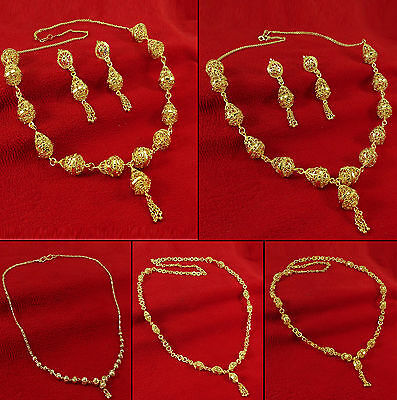 18K Goldplated Indian Ethnic Traditional Necklace Party Jewelry BNG3089A-PAR