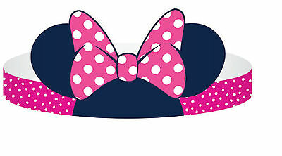 Minnie Mouse Party Hats 8PK AWE2365 Party Supplies Decoration