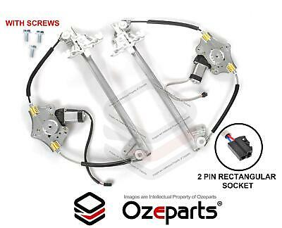 Ford Falcon AU BA BF Pair LH+RH Front Electric Window Regulator With Motor