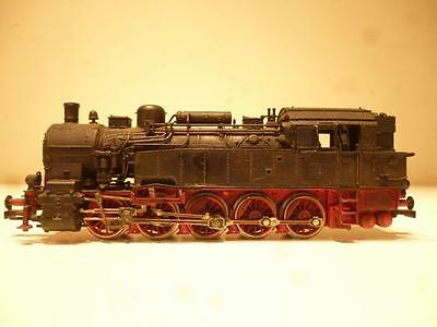 Fleischmann 94 959 958? Vintage Black & Red Locomotive Model Railway Rail Train