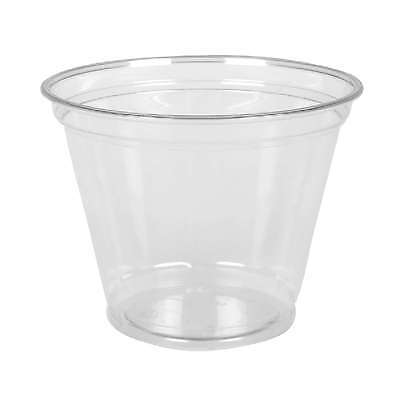 Clear Cup Dessertbecher Smoothie Cups 260mm / 9oz, 800 Obstbecher PET