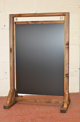 Large Wooden Swinging Pavement Sign A-Board Chalkboard / Cafe / Shop/ Pub