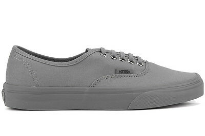 NEW Vans Authentic Primary Mono VN0A38EM Unisex Lifestyle Fashion Sneakers