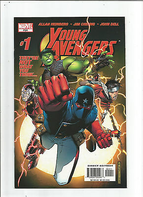 Young Avengers #1 ( Apr 2005, Marvel) 1st Appearance of Kate Bishop Near Mint
