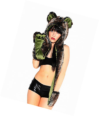 iHeartRaves Koala Rave Spirit Animal Furry Hood