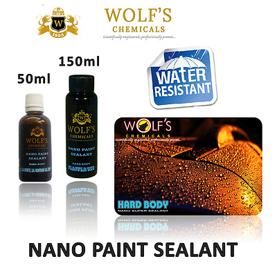 Wolf's Chemicals Car Hard Body Paint Sealant Nano Ceramic Armor Coat Protection
