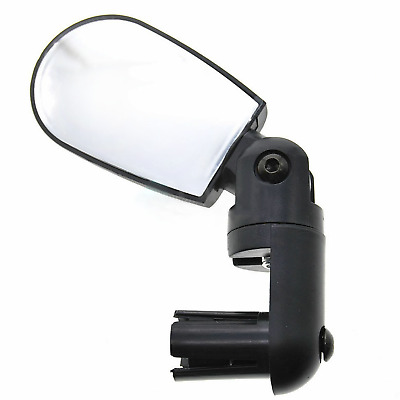 Bicycle Bike Adjustable Wide Angle Rearview Handlebar End Mirror 6cm x 4cm MTB