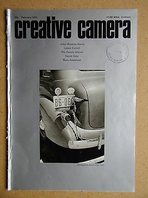 Creative Camera. February 1974. Lewis Carroll, David Grey, Russ Anderson etc