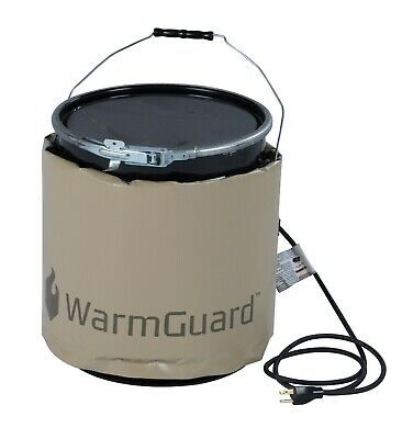 WarmGuard WG05 5-Gallon Insulated Pail Heater - Bucket Heater, Fixed Temp 145 °F