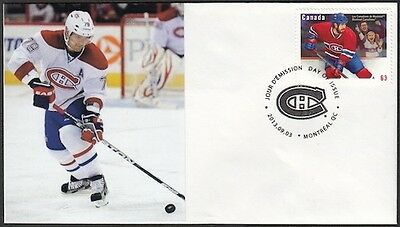 CANADA Sc #2671 (50) MONTREAL CANADIANS ANDREI MARKLOV on FIRST DAY COVER