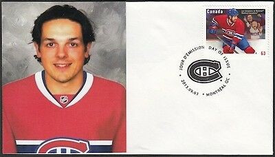 CANADA Sc #2671 (41) MONTREAL CANADIANS DANIEL BRIERE on FIRST DAY COVER