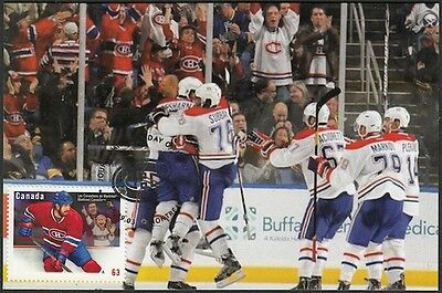CANADA  #2671.82 - MONTREAL CANADIANS after PLAYOFF WIN on MAXIMUM CARD