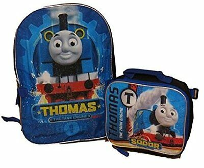 Thomas the Train Boys' Thomas 16 Inch Backpack With Matching Lunch Bag