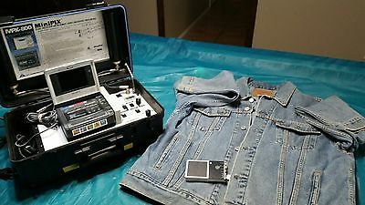 POLICE:MiniPIX DTC Video Surveillance System - COMPLETE with Covert Denim Jacket