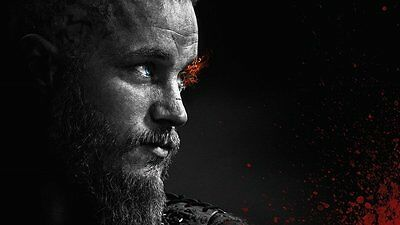 Poster Vikings Vichinghi Travis Fimmel Katheryn Winnick Serie Tv Series #10