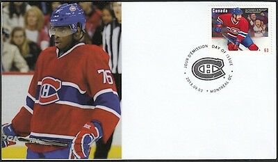 CANADA Sc #2671 (20) MONTREAL CANADIANS P.K. SUBBAN ON SUPERB FIRST DAY COVER
