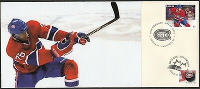 CANADA Sc #2671 (30) MONTREAL CANADIANS P.K. SUBBAN ON SUPERB FIRST DAY COVER