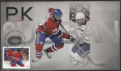 CANADA Sc #2671 (#8) MONTREAL CANADIANS P.K. SUBBAN ON SUPERB FIRST DAY COVER