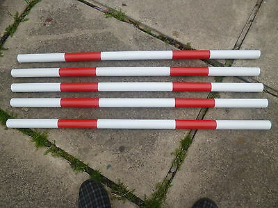 Johnsagility 5 jump poles 100cm x 35mm training,obediance,practice,equipment fun