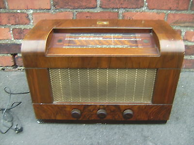 His Masters Voice radio Mod 5209 (NOT WORKING) but nice condition