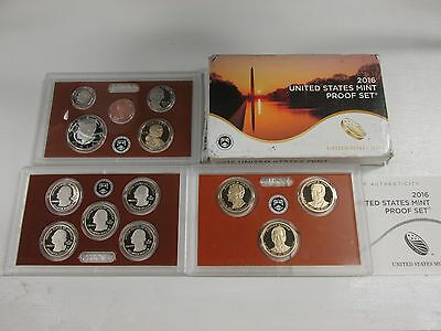 2016 US Mint Clad Proof set with box and COA