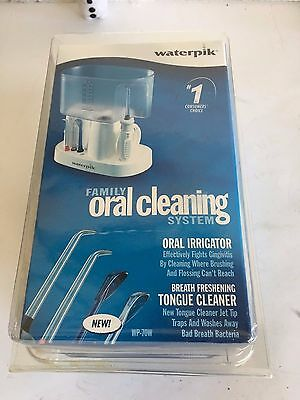 New Waterpik WP-70W Family Oral Dental Jet Cleaning System NIB Free Shipping