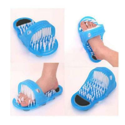 Shower Feet Foot Scrubber Massager Cleaner Spa Exfoliating Washer Wash Slipper