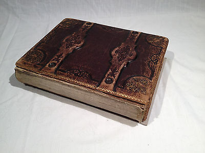 1860s-90s BEAUTIFULLY DESIGNED SHAKESPEARE PHOTO ALBUM, CDVs & CABS, PA & GERMAN