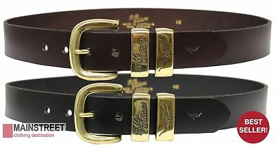 RM Williams Leather Work Belt - RRP 99.99