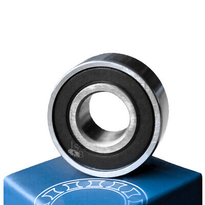 (Qty.2) 6004-2RS two side rubber seals bearing 6004 rs ball bearings 6004rs