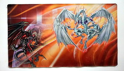 Yu-Gi-Oh Custom Red Dragon Archfiend and Stardust Dragon Playmat (Unsealed)