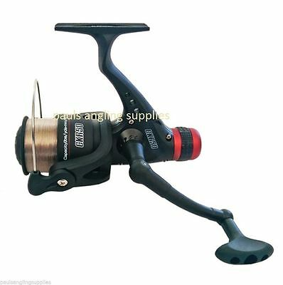 NGT CKR50 Fishing Reel for Feeder Spin Spinning Rod 050 Size with 8lb Line