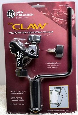 Latin Percussion LP592A THE CLAW Microphone Mounting System - BRAND NEW SEALED