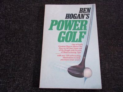Power Golf by Hogan, Ben Paperback Book The Cheap Fast Free Post